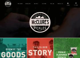 mcclurespickles.com