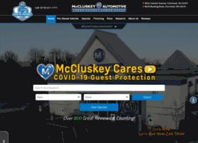mccluskeyautomotive.com