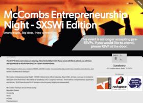 mccombsentrepreneurshipnightsx.splashthat.com