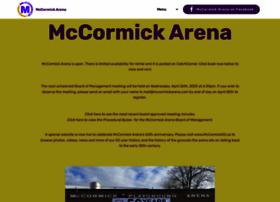 mccormickarena.com
