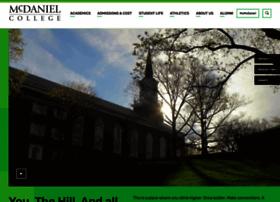 mcdaniel.edu