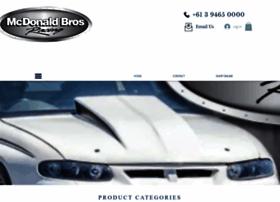 mcdonaldbrosracing.com.au