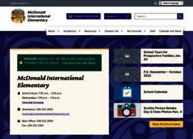 mcdonaldes.seattleschools.org