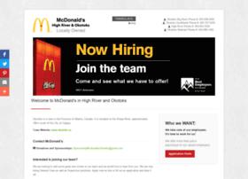 mcdonaldsokotoks.com