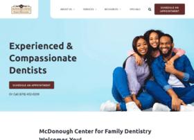 mcdonoughdentistry.com