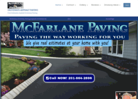 mcfarlanepaving.com