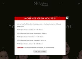 mcgeheeschool.com
