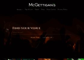 mcgettigans.com