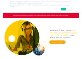 mcgowantranscriptions.co.uk