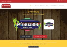 mcgregorgeneralstore.com