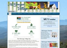 mcgregorvillage.co.za