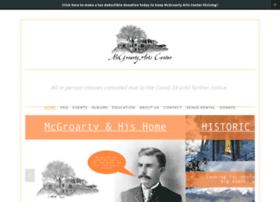 mcgroartyartscenter.org