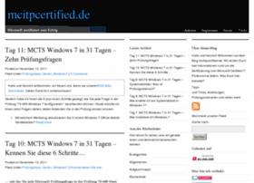 mcitpcertified.de