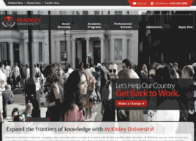 mckinleyuniversity.com