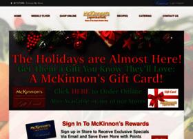 mckinnonsmarkets.com