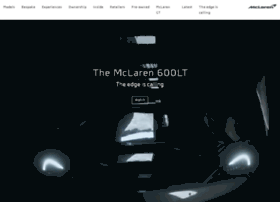 mclarenautomotive.com