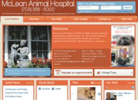 mcleananimalhospital.vetstreet.com
