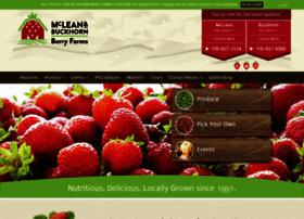 mcleanberryfarm.com