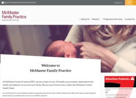 mcmasterfamilypractice.ca