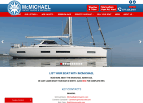 mcmichaelyachtbrokers.com