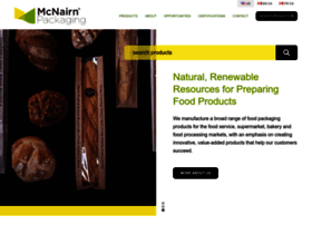 mcnairnpackaging.com