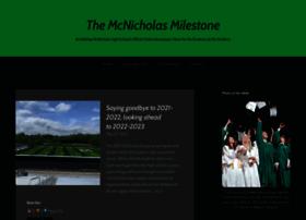 mcnicholasmilestone.com