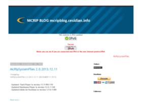 mcripblog.cesidian.info