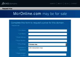 mcronline.com