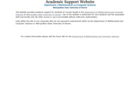 mcs.msudenver.edu