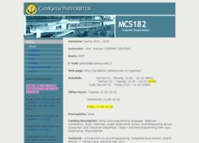 mcs182.cankaya.edu.tr