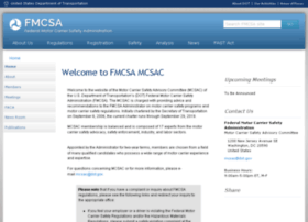 mcsac.fmcsa.dot.gov