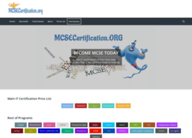 mcsecertification.org