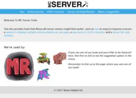 mcserver.tools