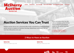 mcsherryauction.com