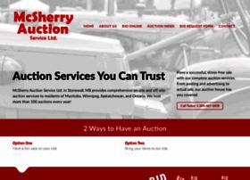 mcsherryauction.com