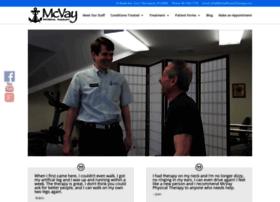 mcvayphysicaltherapy.com