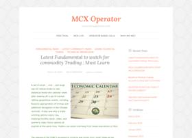 mcxoperator.wordpress.com