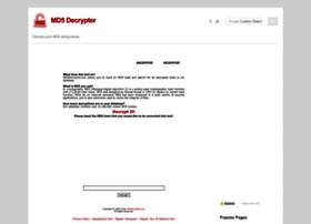 md5decrypter.com