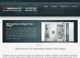 mdappliancerepairsandiego.com