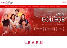 mdiscollege.edu.sg