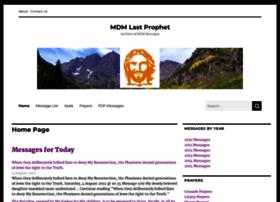 mdmlastprophet.com