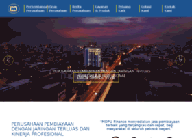 mdpufinance.co.id