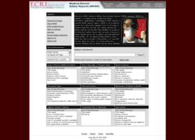 mdsr.ecri.org