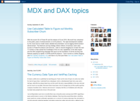 mdxdax.blogspot.com