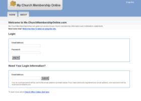 me.churchmembershiponline.com