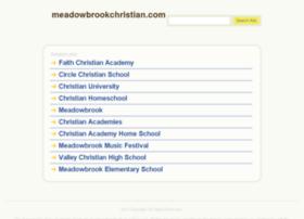 meadowbrookchristian.com