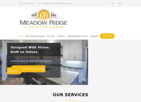 meadowridgehomes.com