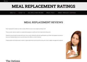 mealreplacementratings.com