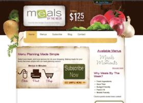 mealsbytheweek.com
