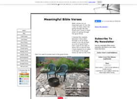 meaningfulbibleverses.com